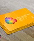 کارت ویزیت لایه باز دفتر تبلیغاتی